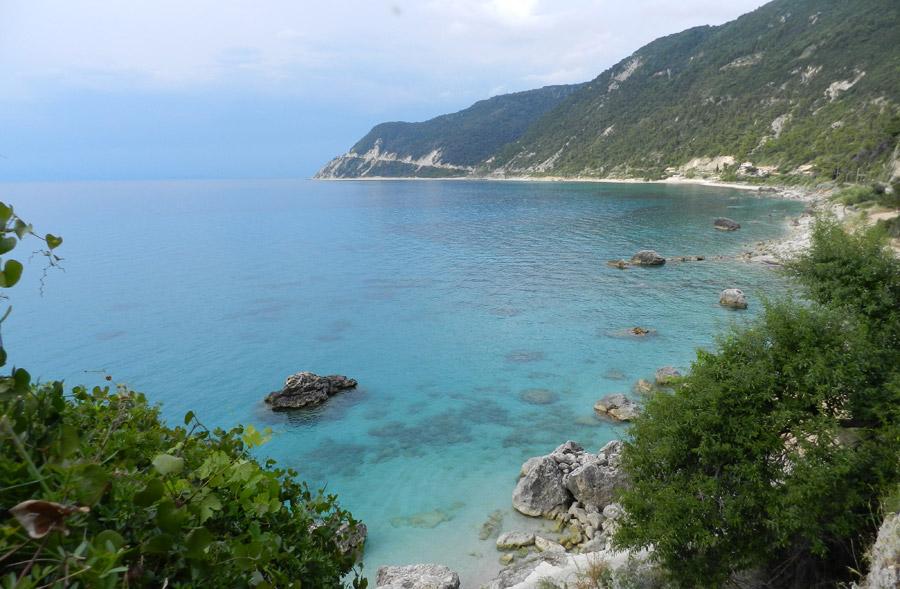 View from Agios Nikitas