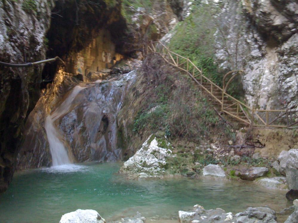 waterfalls nydri